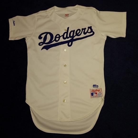 buy popular 9e85a c4523 Los Angeles Dodgers Rawlings baseball jersey